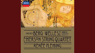 Berg: Lyric Suite for String Quartet (1926) - III. Allegro misterioso - Trio estatico