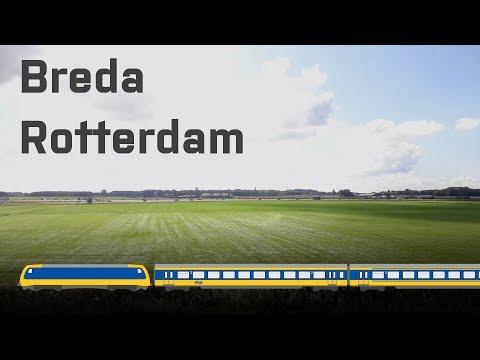 Breda - Rotterdam Central by Train