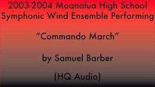 Commando March | Moanalua HS Symphonic Wind Ensemble | 2003 Winter Concert