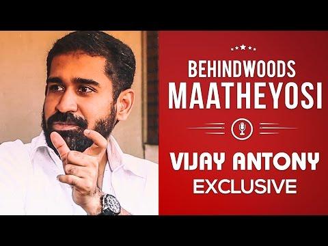 I drink, I smoke & I want to forget Music director Vijay Antony! | MY 30