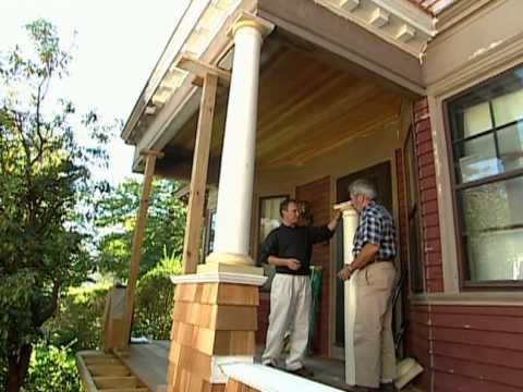 How to Restore a Porch - Historic Home Renovation Providence, RI  - Bob Vila eps.2206
