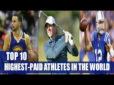 Top 10 Highest Paid Athletes in the World 2018