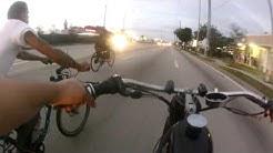 Motor Bike Miami pre Xmas ride