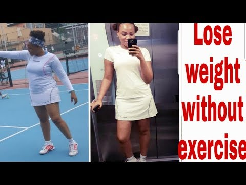 HOW I LOST WEIGHT WITHOUT EXERCISE AND DIET |DRINKING APPLE CIDAR VINEGAR