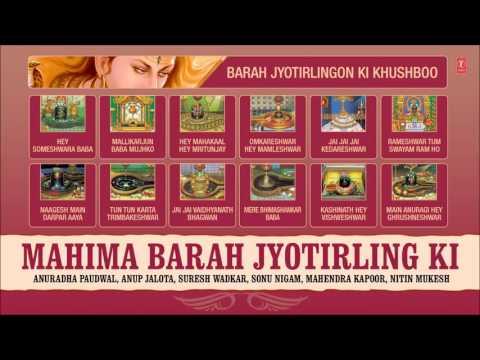 MAHIMA BARAH JYOTIRLING KI, SHIV BHAJANS ANURADHA PAUDWAL,SONU NIGAM,ANUP JALOTA I AUDIO JUKE BOX