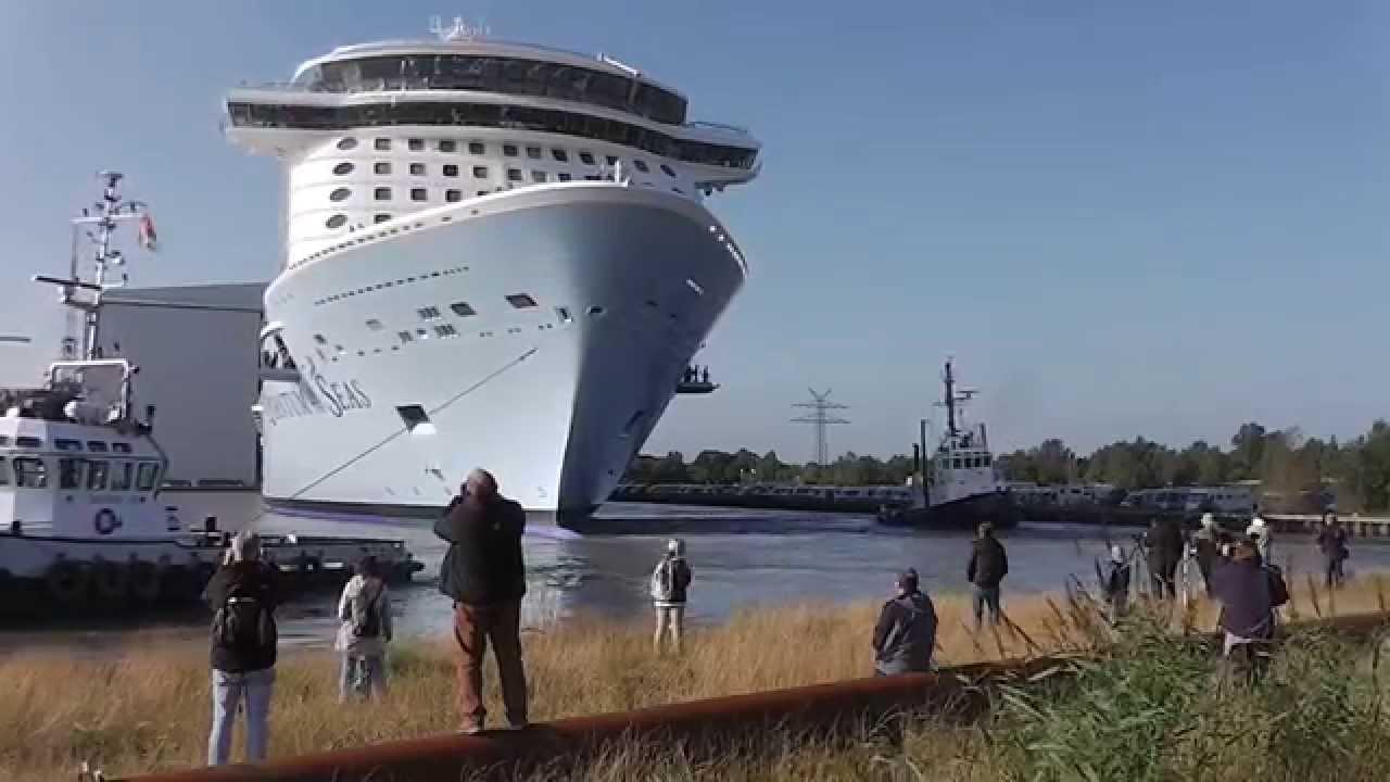 Afbeeldingsresultaat voor quantum of the seas Meyer Werft