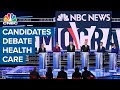 Democratic candidates debate health care and Medicare-for-all