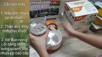 Hướng dẫn sử dụng máy hâm nước pha sữa Fatzbaby FB3004SL
