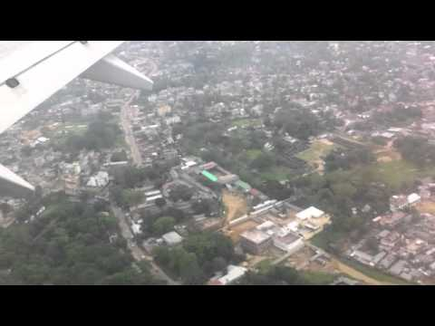 Aerial view of Dimapur before landing