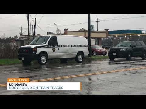 Body Found on Longview Train Tracks