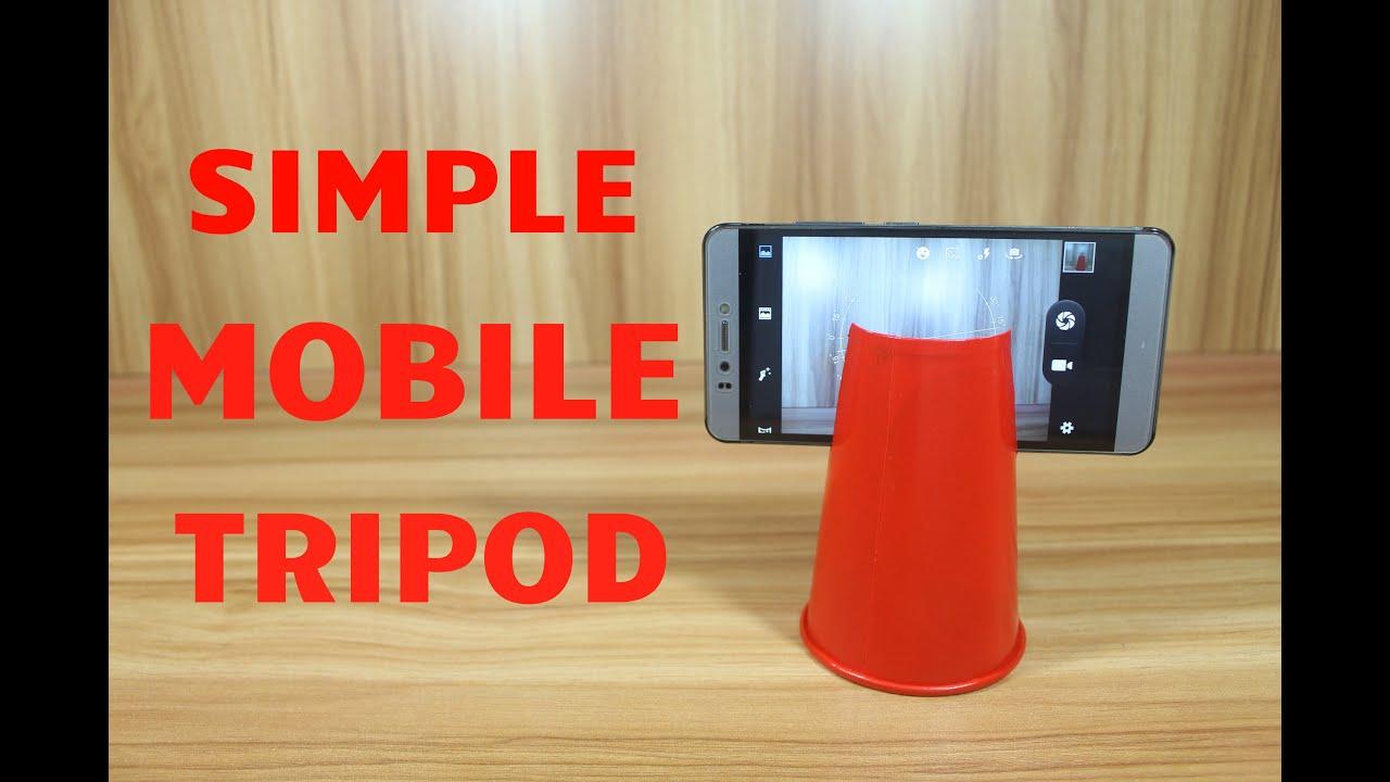Jak zrobić super prosty statyw do telefonu z plastikowego kubka