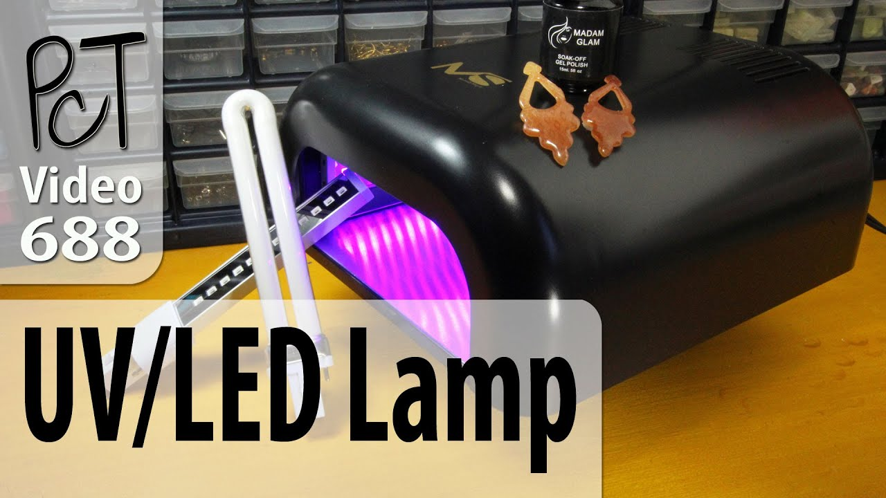 Melodysusie Uv Led Combo Lamp Review For Uv Resin Nails Youtube