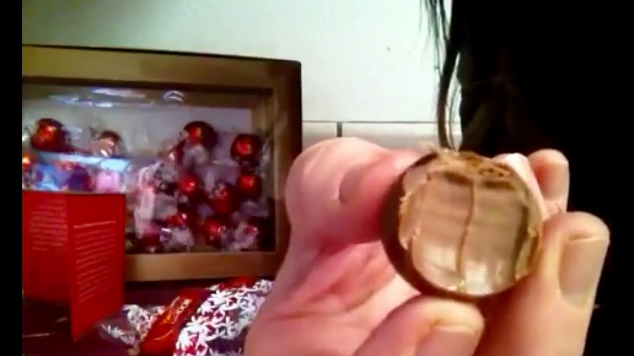 Asmr Lindt Lindor Milk Chocolate Truffles Gift Box Review Info Dark Soft Spoken