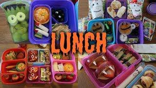 halloween school lunch ideas week 10   sarah rae vlogas
