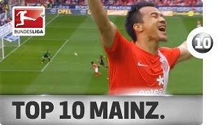 Top 10 Goals - Mainz - 2013/14