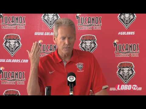 2013 Lobo Football | Media Day - Head Coach Bob Davie Press Conference Opening Statement