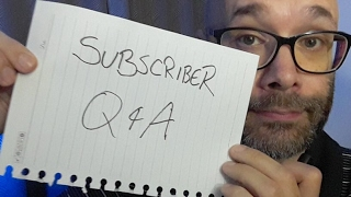 YouTube Subscriber Q & A