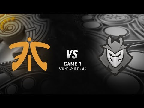 FNC vs. G2 | Final Game 1 | EU LCS Spring Split | G2 Esports vs. Fnatic (2018)