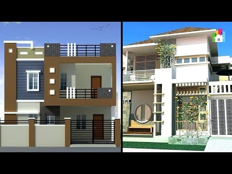 Two Floor House Elevations Photos Double Floor House Ideas