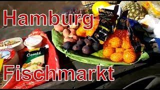 Германия. Гамбург. Местные байкеры. Рынок фишмаркт. Рыбный рынок в Гамбурге. Hamburg Fischmarkt
