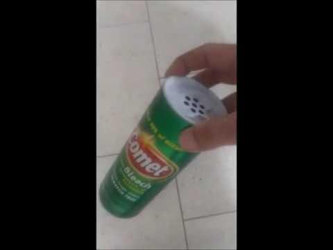 Clean a kitchen floor with no scrubbing