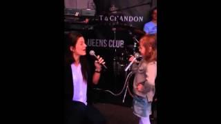 Milica Pavlovic i Alisa - Seksi senjorita - (LIVE) - (Club Queens, Innsbruck 2015)