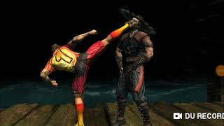 Mortal  kombat  Johnny  cage x ray move