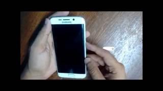 Colocar (Instalar) Chip no Samsung Galaxy S6 Edge