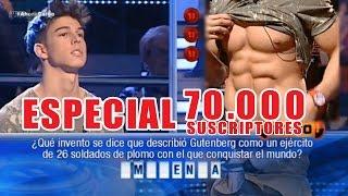The Fitness Boy en AHORA CAIGO (Concurso TV)