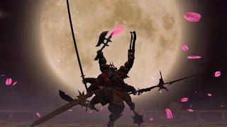 Repeat youtube video FFXIV Gilgamesh Hard (Battle in the big Keep)