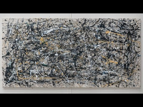 Can Anyone Make a Jackson Pollock? | MICA 2020 (My Painting)