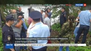 В Мордовии директор оружейного магазина расстрелял соседскую свадьбу