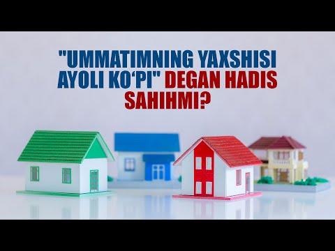 """""""Ummatimning yaxshisi ayoli"""