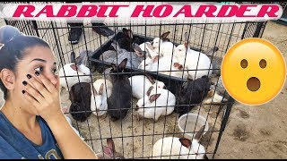 VISITING A RABBIT HOARDING SITUATION!!! *SHOCKING*