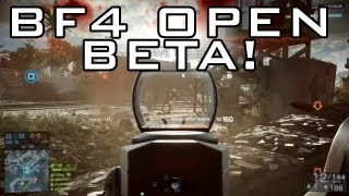 battlefield 4 open multiplayer beta date map gametype ps3 xbox and pc bf3 gameplay