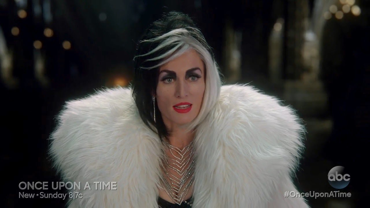 Once Upon A Time Ursula Maleficent And Cruella De Vil