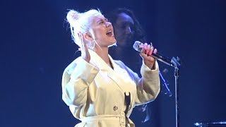 """Check out our show mousesteps weekly: https://www./playlist?list=pl2395f3534d2aff0echristina aguilera sings """"reflection"""" at the disney d23..."""