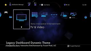 PS2 Legacy Dashboard - PS4 Dynamic Theme