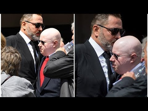 David Walliams and Matt Lucas see each other at Dale Winton's funeral for first time after seven ...