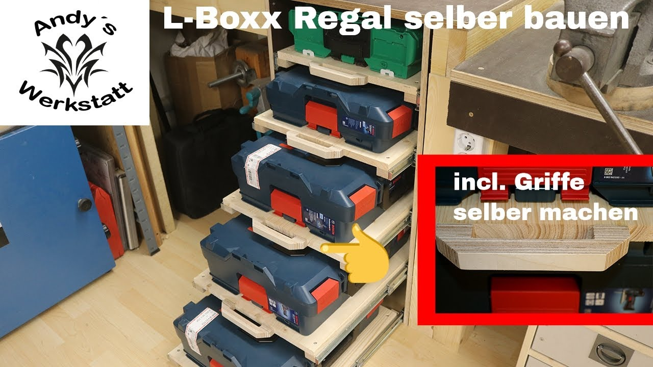 L Boxx Regal Mit Vollauszug Incl Griffe Selber Machen Youtube