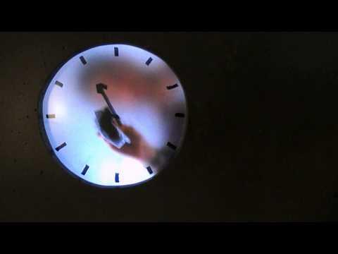 Modern art clock in Rijks museum, Amsterdam