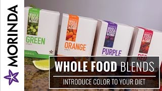 Your diet needs a little color! featuring 12 fruits and vegetables each, morinda wellness brand whole food blends contain essential phytonutrients to help yo...