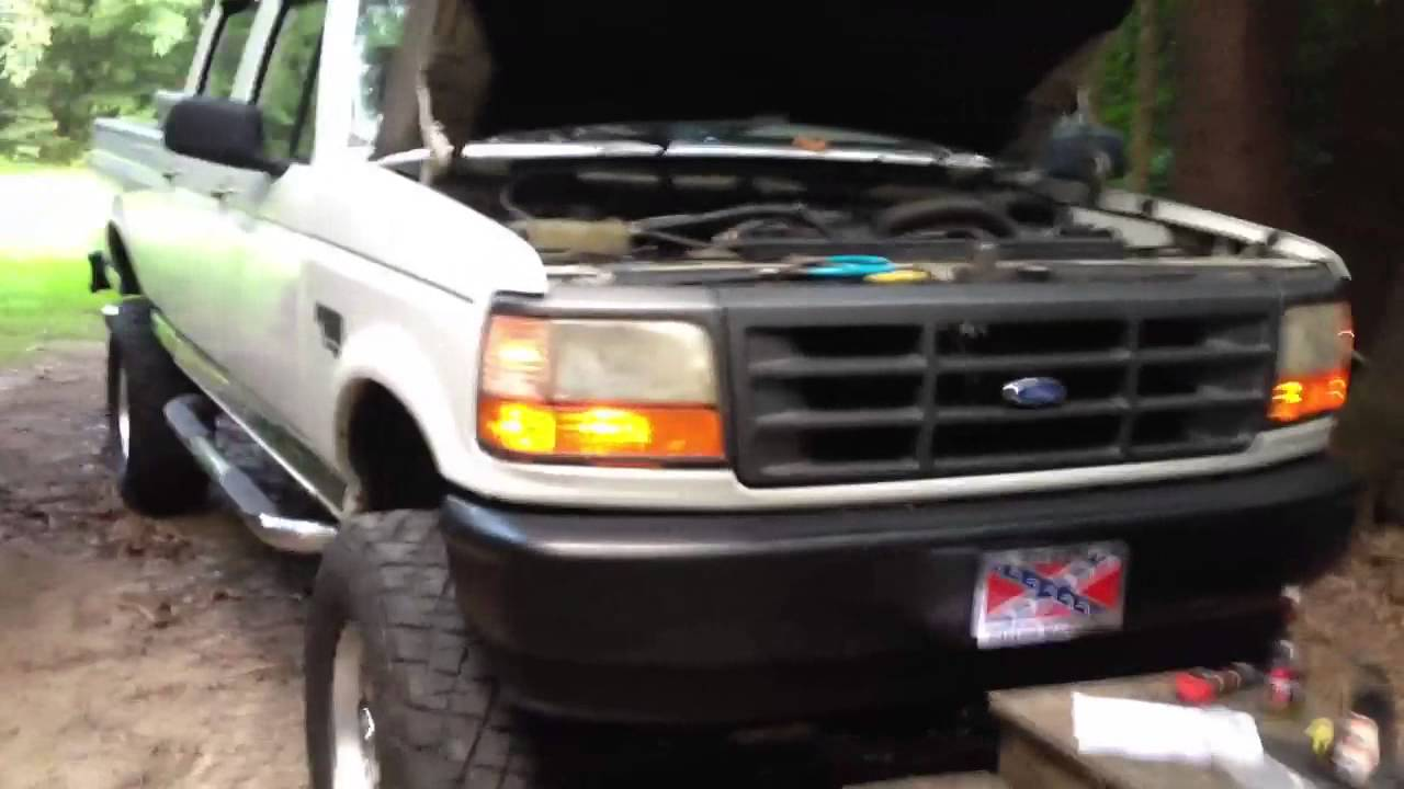 Installing Remote Start In David Truck Youtube Wiring F250