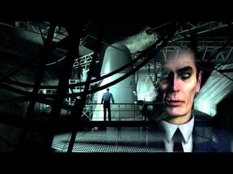 Half-Life 2: Episode Two G-man Scene [Heart-to-Heart] (1080p)
