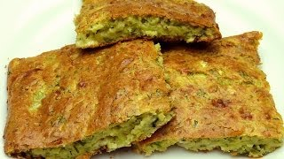 Turkish Zucchini Cake Recipe | Savory Vegetable Cake