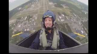 Youtube Extra: Kristen Lowe Flies With The Blue Angels