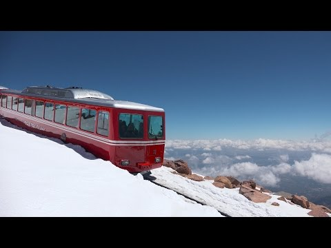 Pikes Peak Cog Railway ~ Summer Highlights & Steam Engine