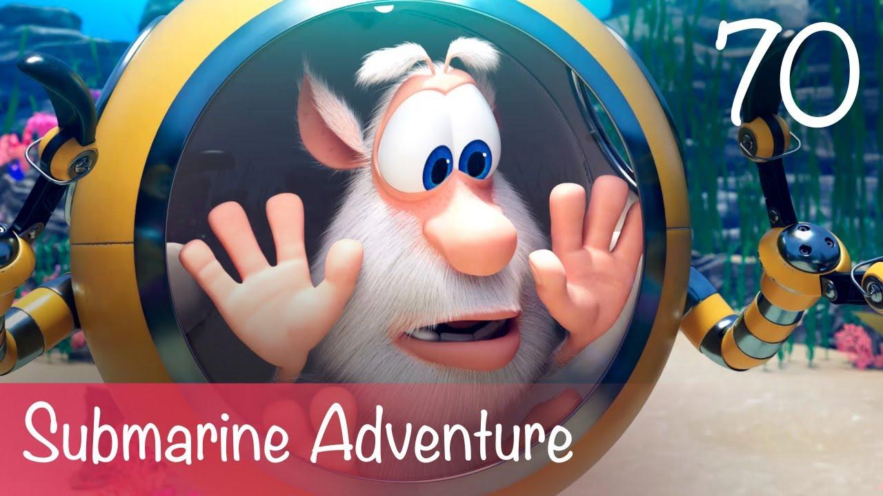 Booba - Submarine Adventure - Episode 70 - Cartoon for kids
