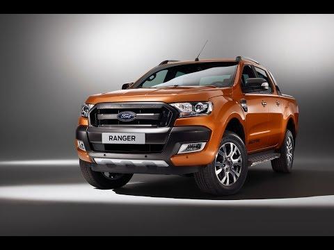 Обновленный пикап Ford Ranger