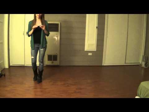 Chicken Fried (Line Dance) - Demo & Teach